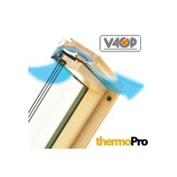 Деревянное окно со среднеповоротным открыванием FTP-V U5 Thermo