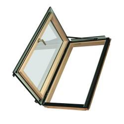 Распашное термоизоляционное окно FWL U3 (ручка слева) / FWR U3 (ручка справа)