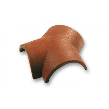 Цементно-песчаная фасонная черепица Aura, Y-образная коньковая черепица (A-TIILIKATE)