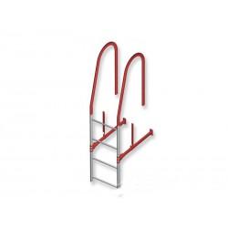 Комплект для крепления лестницы на край крыши AS4 (A-TIILIKATE)