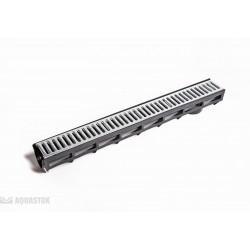 AQUA-TOP DN90 H100 со штампованной оцинкованной решеткой