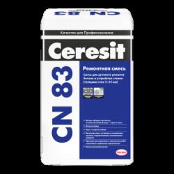 Ceresit CN 83. Ремонтная смесь для бетона (от 5 до 35 мм)
