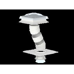 Световой туннель с жесткой трубой для плоской кровли (TCR)